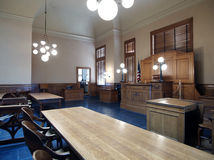 County Court Tables Stock Photography