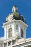County Courthouse Clock Tower in Missoula, Montana Royalty Free Stock Photo