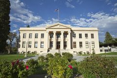 County Courthouse Rural America Royalty Free Stock Photos