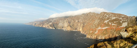 County Donegal seaside cliffs. Royalty Free Stock Photography