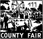 County Fair royalty free illustration