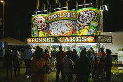 Free County Fair At Night, Games On The Midway Stock Images - 99648024
