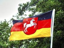 Free County Flag Lower Saxony Niedersachsen Stock Photos - 100010593