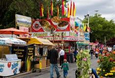 County Food Fair Royalty Free Stock Photos