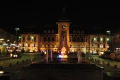 County Hall di Craiova Fotografie Stock