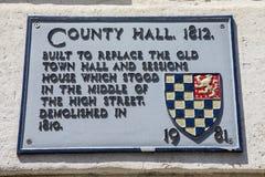 County Hall en Lewes Fotografía de archivo libre de regalías
