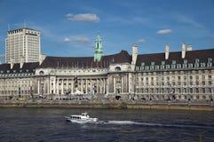 County Hall (Londres) Photographie stock libre de droits