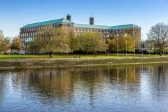 County Hall nella città di Nottingham immagine stock libera da diritti