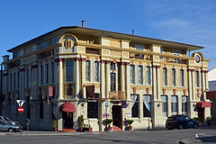 The County Hotel building Art Deco Napier New Zealand Royalty Free Stock Image