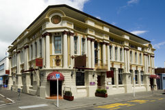 The County Hotel, Napier Stock Image