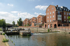 County Lock, Reading, Berkshire Royalty Free Stock Image