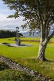 National Famine Monument in Ireland stock image