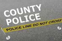 County Police concept Royalty Free Stock Photos