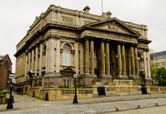 County Sessions House in William Brown Street, Liverpool, England Royalty Free Stock Image
