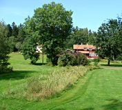 County Uppsala Royalty Free Stock Photo