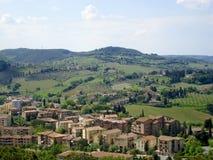 Countyside de la Toscane Image libre de droits