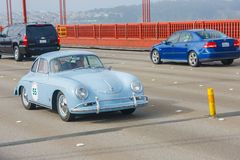 Coupé 1957 de Porsche 365 Image libre de droits