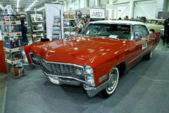 Coupé 1957 del Cadillac De Ville V8 Fotografie Stock Libere da Diritti