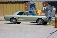 Coupé 1967 del mustang del Ford Fotografia Stock Libera da Diritti