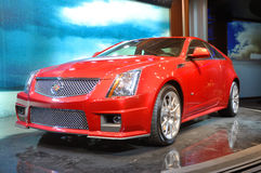 Coupé 2011 del Cadillac CTS-V Immagine Stock Libera da Diritti