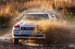 Coupé Audis S2 lizenzfreies stockbild