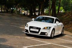 Coupé 2012 Audis TT lizenzfreies stockfoto