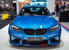 Coupé BMWs M2 stockbilder