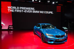 Coupé 2016 BMWs M2 lizenzfreies stockfoto