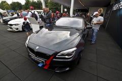 Coupé BMWs M6 Lizenzfreies Stockbild