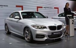 Coupé BMWs M235i lizenzfreie stockfotografie