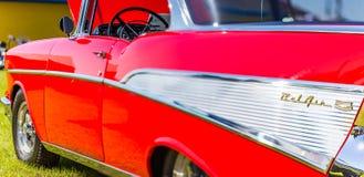 Coupé 1957 Chevrolets BelAir Stockbilder