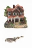 Coupé d'une maison miniature classique Photos libres de droits