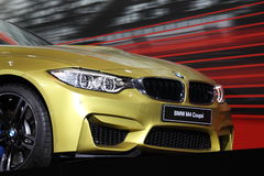 Coupé de BMW M4 à l'International mobile automatique photo stock