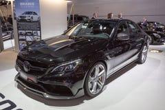 Coupé 2015 de Brabus Mercedes-AMG C63 photographie stock