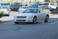 Coupé de Cadillac CTS-V images libres de droits