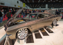 Coupé 1965 de Chip Foose Chevy Impala Sport Photographie stock libre de droits