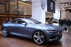 Coupé de concept de Volvo Image libre de droits