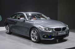 2013 coupé de GZ AUTOSHOW-BMW 4series Photo stock