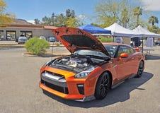 Coupé de haute performance de Nissan GT-R Nismo Images stock