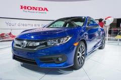 Coupé 2016 de Honda Civic Image stock