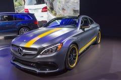 Coupé de Mercedes Benz C63 AMG photos stock
