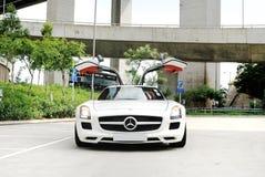Coupé de Mercedes-Benz SLS AMG Photographie stock libre de droits