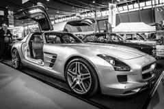 Coupé de Mercedes-Benz SLS AMG 6,3 de Supercar, 2010 Photo stock