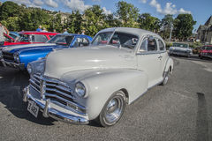 Coupé 1948 de sport de Chevrolet Fleetmaster Images libres de droits
