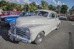Coupé 1948 de sport de Chevrolet Fleetmaster Images libres de droits