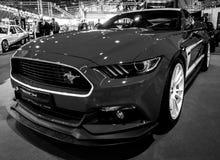 Coupé de voiture deux-volumes de Ford Mustang GT AM2 de voiture de poney, 2016 Images stock