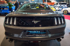 Coupé de voiture deux-volumes de Ford Mustang GT V8 de voiture de poney, 2016 Images stock