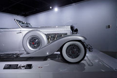 Coupé 1936 del convertibile del modello SJN di Duesenberg immagine stock libera da diritti