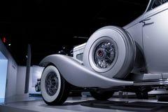 Coupé 1936 del convertibile del modello SJN di Duesenberg fotografia stock