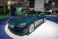 Coupé dell'edizione 50 di BMW ALPINA B6 Bi-Turbo Fotografia Stock Libera da Diritti